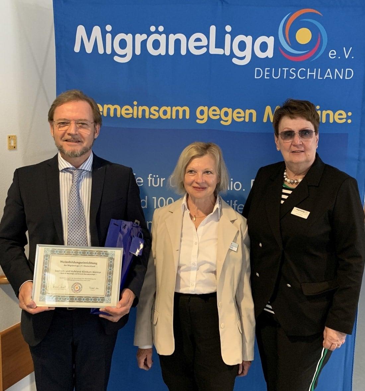 Weimar Auszeichnung-Hufeland-Klinik