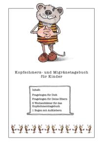 Kopfschmerz- und Migränetagebuch mit dem Janosch-Bär