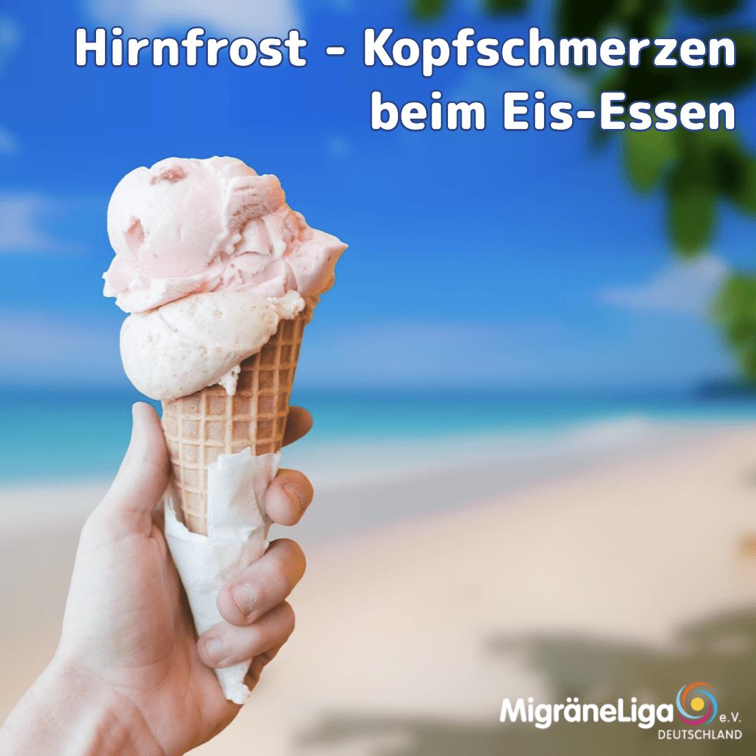 Hirnfrost - Kopfschmerzen beim Eis-Essen