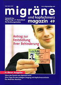 migräne magazin, Heft 49