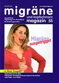 migräne magazin, Heft 53