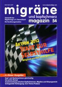 migräne magazin, Heft 54