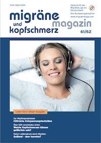 migräne magazin, Heft 62