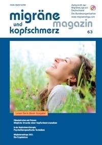 migräne magazin, Heft 63